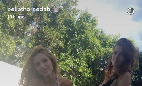 Bella Thorne, Tyler Posey Celebrate Bikini Birthday