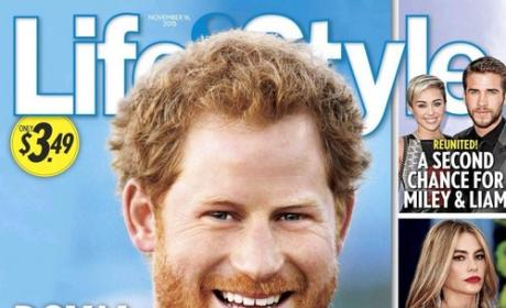 Prince Harry, Life & Style Cover