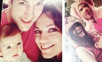 Mila Kunis and Ashton Kutcher Baby Photo: First Adorable Look!