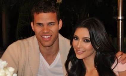 Kim Kardashian and Kris Humphries: The Engagement Night Photo!