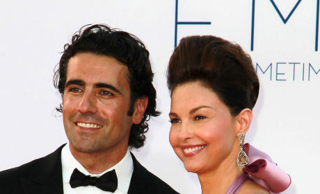 Dario Franchitti, Ashley Judd Photo