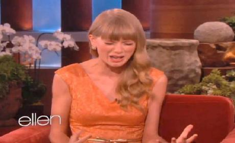 Taylor Swift Grilled on Ex-Boyfriends, Squirms Uncomfortably
