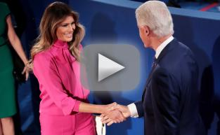 "Melania Trump Wears ""Pussy-Bow"" Top To Presidential Debate"