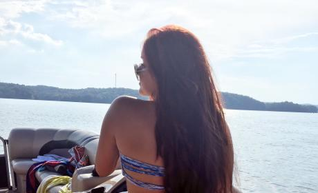 Ariel Winter: Bikini on a Boat