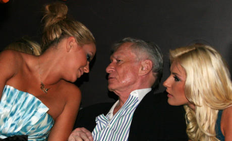 Aubrey and Hef