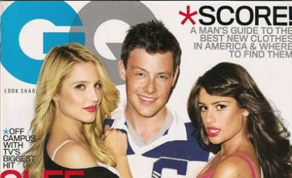 Glee Gets (Too?) Sexy for GQ