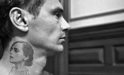 James Franco Shows Off Emma Watson Tattoo, Carves Heart Into Arm, Remains Creepy