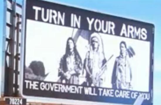 Pro-Gun Billboard
