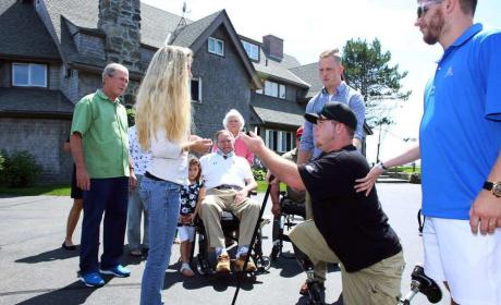 Wounded Veteran Proposes to Girlfriend (But, Wait, There's More!)