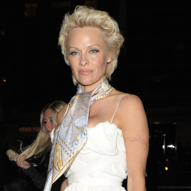 Pamela Anderson in Cannes