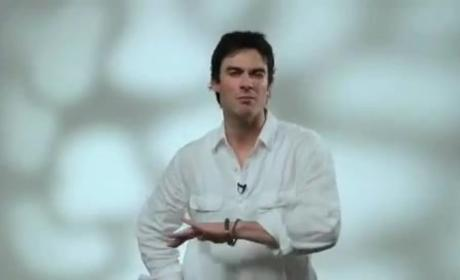 Ian Somerhalder Promotes World Environment Day