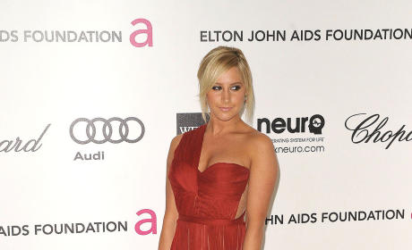 Ashley Tisdale Red Carpet Pic