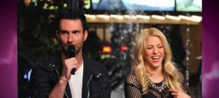 Adam Levine: Too Flirty with Shakira?
