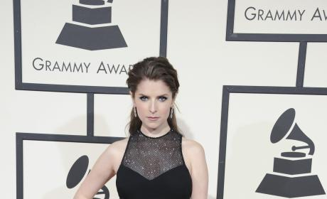 Anna Kendrick at 2016 Grammys