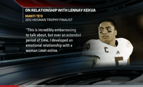 Manti Te'o Responds to Girlfriend Death Hoax, Claims Victimhood