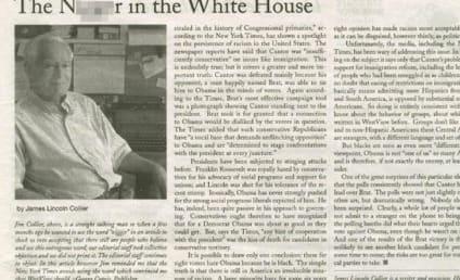 Newspaper Refers to President Obama as N Word in Headline