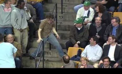 Celtics Fan Rocks Out to Bon Jovi, Thrills Crowd on Arena Scoreboard