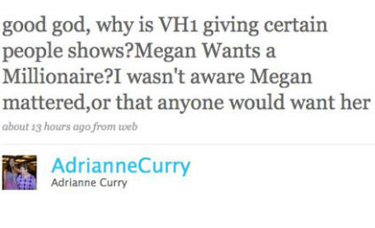 Twitter Feud of the Day: Adrianne Curry vs. Megan Hauserman
