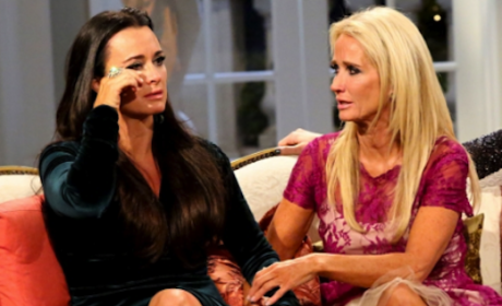Kim & Kyle Richards: BANNED From Family Holiday Party
