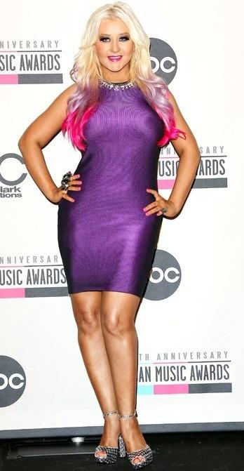 Christina Aguilera Curvy