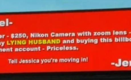 Cheating Husband Billboard: Scorned Wife Calls Out Spouse ... But is it Legit?