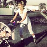 Megan Rossee, Baby