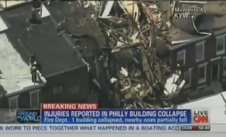 Philadelphia Explosion Injures Eight, Levels Home