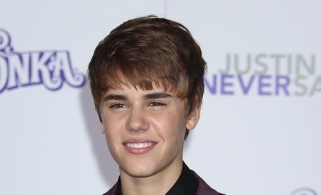 Bieber Premiere Pic