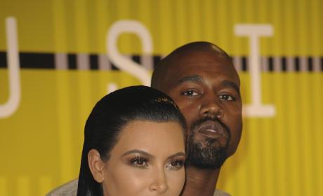 Kim Kardashian, Kanye West: 2015 VMAs