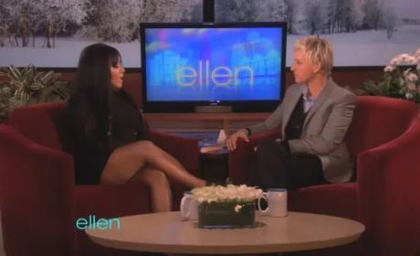 "Snooki Shares ""Workout"" Routine With Ellen"