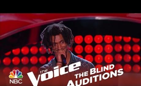 Menlik Zergabachew - Santeria (The Voice Audition)