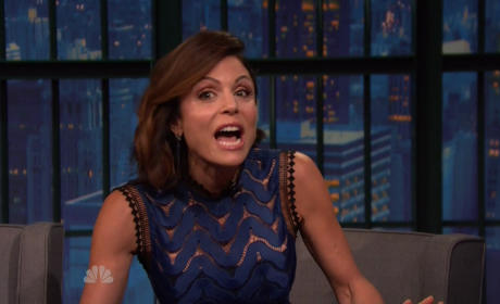 Bethenny Frankel on The Late Show