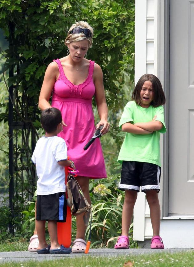 Kate Gosselin and Kids