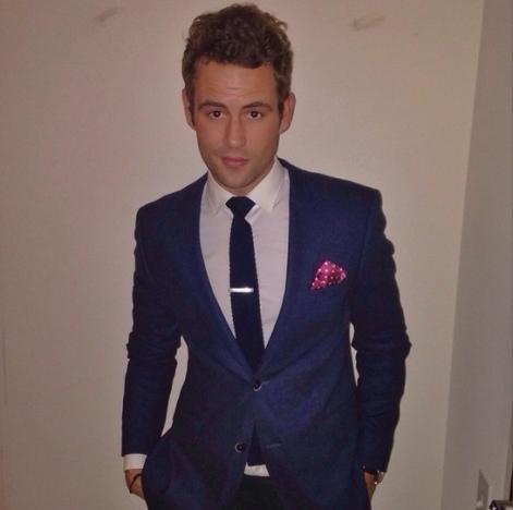 Nick Viall in Suit