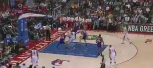Blake Griffin Dunks Over Pau Gasol