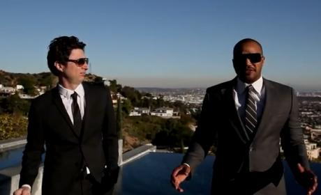 A Very Merry Christmas from Zach Braff and Donald Faison