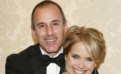 Matt Lauer, Snubbed By Katie Couric, Wanted to Crash Wedding as Waiter