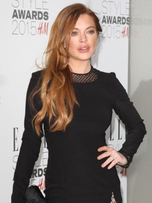 Lindsay Lohan Style Awards Pic