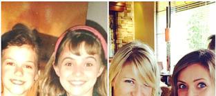 Jodie Sweetin & Christine Lakin: '90s TGIF Stars Reunite For Epic Selfie!