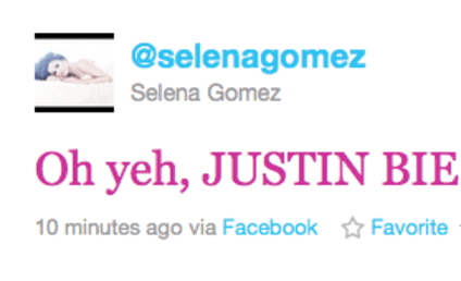 Selena Gomez Twitter, Facebook Hacked: Video Evidence!