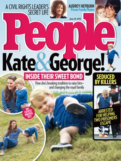 Kate Middleton, Prince George People Magazine Cover