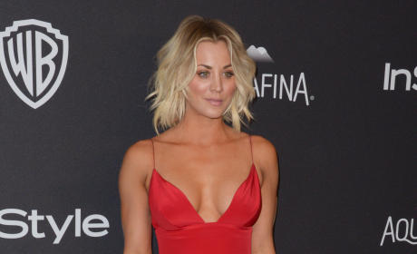 Kaley Cuoco: 2016 InStyle/Warner Bros Golden Globes after party