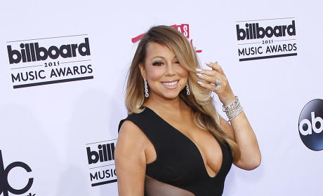 Mariah Carey at Billboard Music Awards