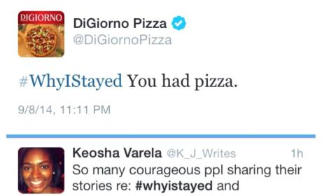 DiGiorno Apologizes for Interrupting Domestic Violence Talk with Pizza Ad