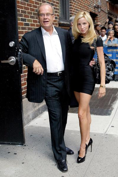 Kelsey Grammer and Camille Grammer in NYC
