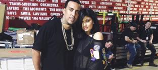 Kylie Jenner and French Montana Pic