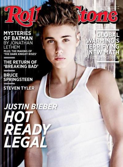 Justin Bieber Rolling Stone Cover