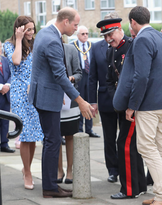 Prince williams makes sure lord lieutenant ok