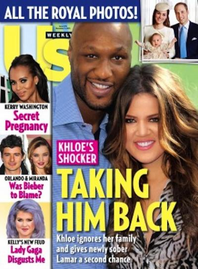 Khloe and Lamar Cover
