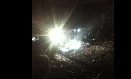 "Concert Goers Walk Out on Whitney Houston, Refer to Singer as ""Rubbish"""